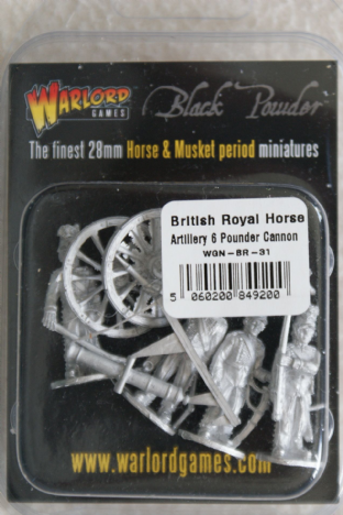 Warlord Games 28mm WGN-BR-31 British Royal Horse Artillery 6 Pdr
